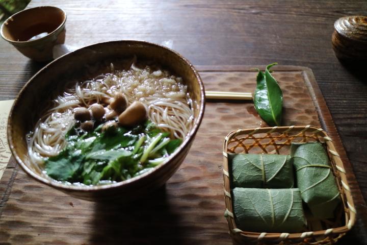 そうめん「森正」大神神社参拝帰りに食べるならココ!古民家風の店内、柿の葉寿司もあるよ