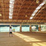 【しみず温泉あさぎり】社会人のテニス合宿・和歌山有田・鮎が美味しい・屋根付きテニスコート