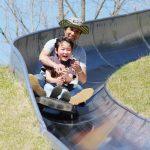 子連れキャンプならココ!関西で人気・穴場「みつえ青少年旅行村」川遊び・ボブスレー・フィールドアスレティック