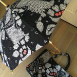【手作り日傘】浴衣や着物から!お揃えのバッグも作ってみた。和柄とは一味違う本物の良さとは?